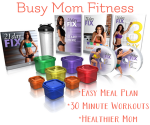 fitness for busy moms