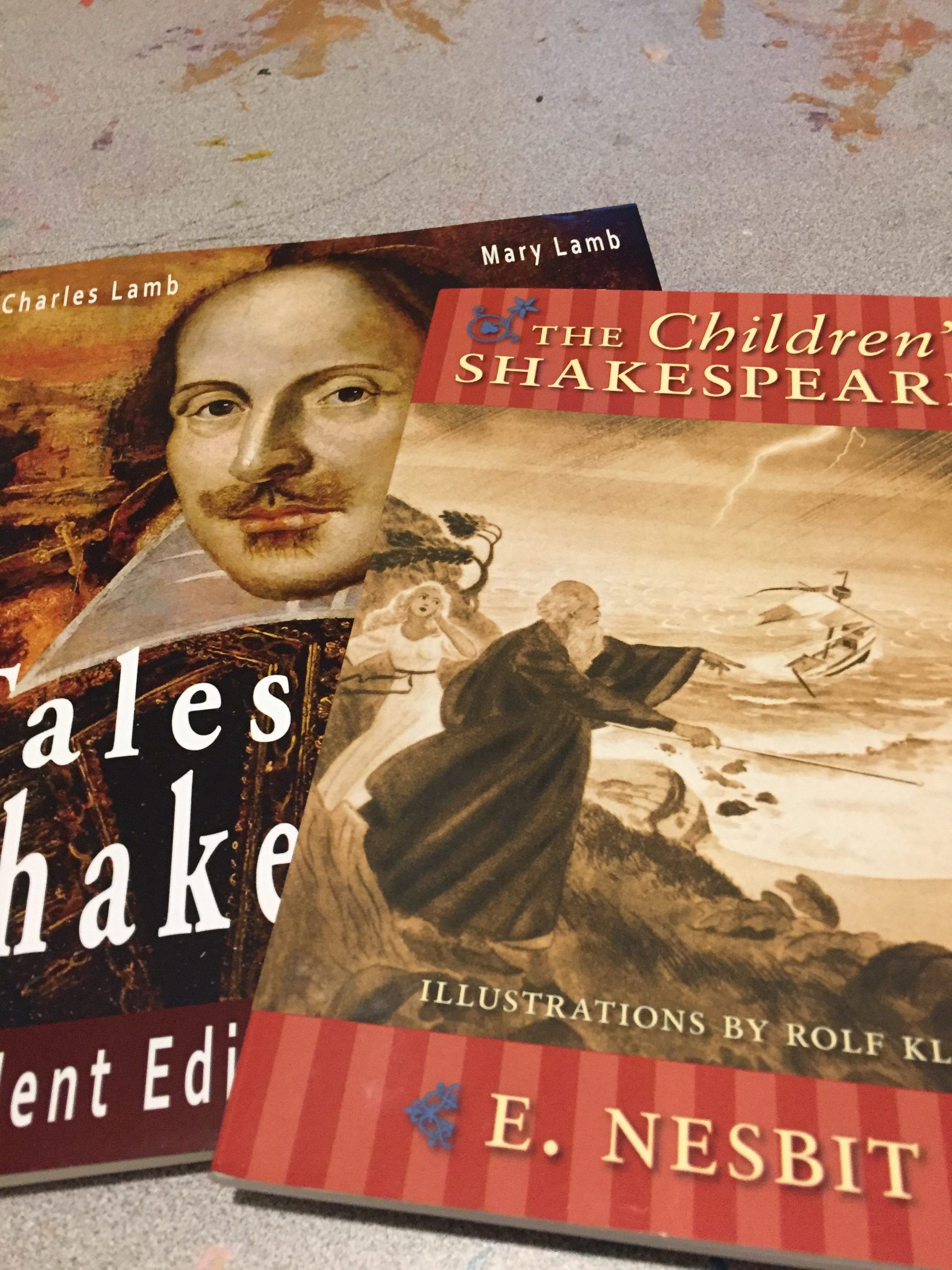 Shakespeare for elementary students
