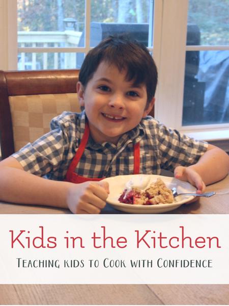 teaching children to cook practical life skills