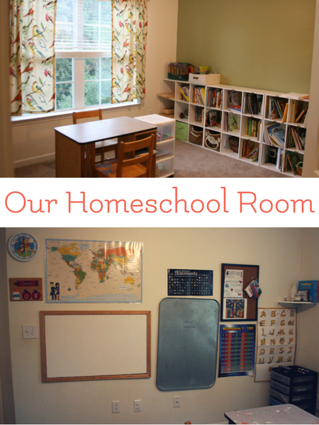 charlotte mason homeschool room