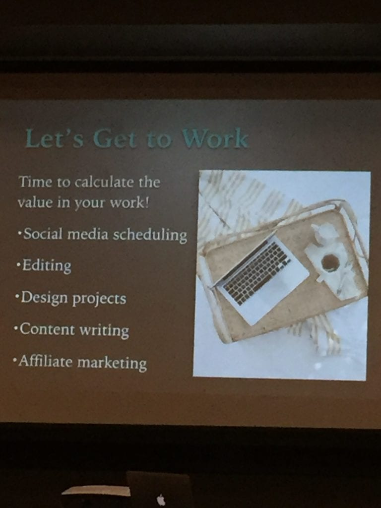 time management for bloggers with melanie wilson