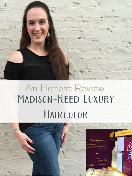 madison reed chemical free hair color honest review