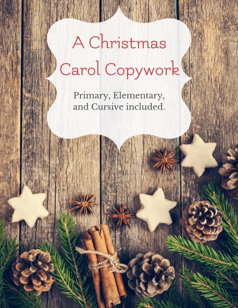 A Christmas Carol copywork