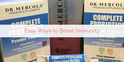 Easy Ways to Boost Immunity – Probiotics for Kids
