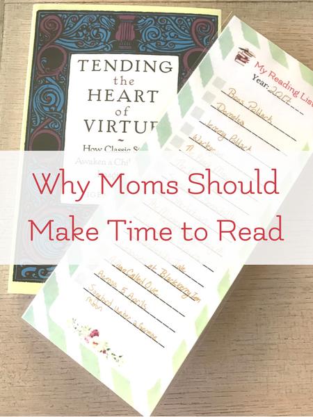 reading list for mom