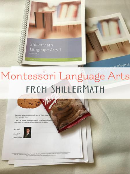 preschool montessori language arts ShillerMath