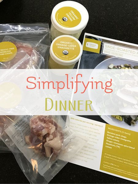 simplifying dinner green chef review