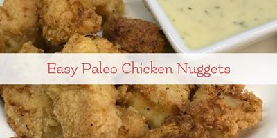 easy paleo chicken nuggets