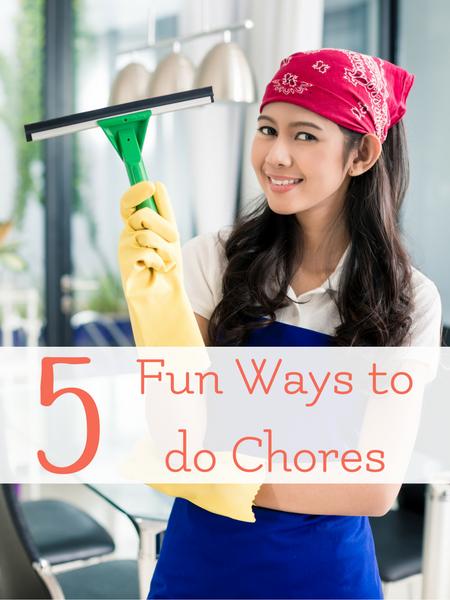 5 ways to engage children in chores