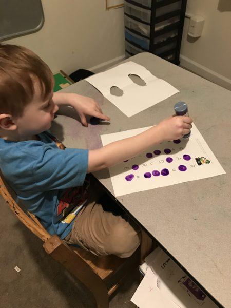 saint patrick's day printable for preschool kindergarten