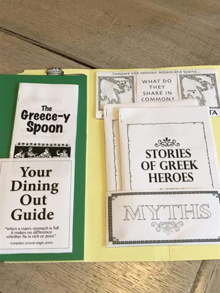 project passport ancient history lap book unit study