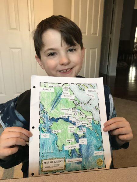 history and geography ancient greece unit study for elementary ages