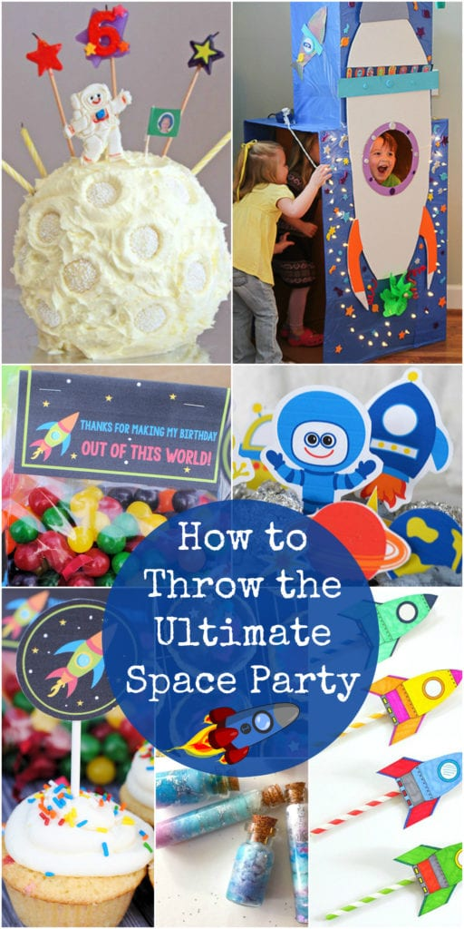 ultimate space party guide