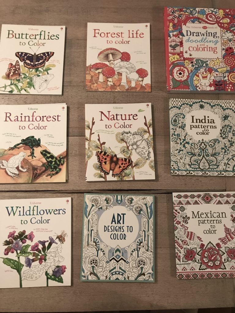 discount adult coloring book sale