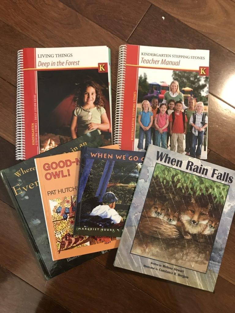 homeschool kindergarten curriculum