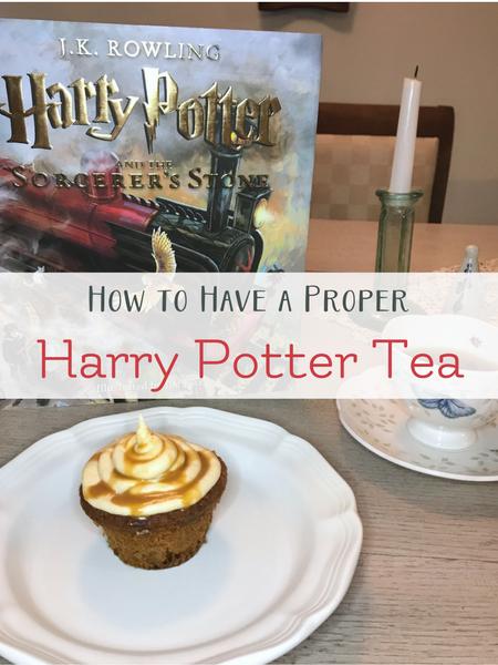 harry potter tea time