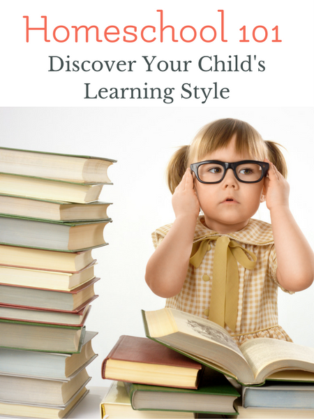 Homeschool 101 Discovering your child's learning style with a free printable curriculum inventory checklist. Characteristics of learning styles explained simply.