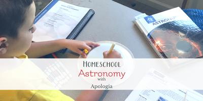 Homeschool Astronomy with Apologia