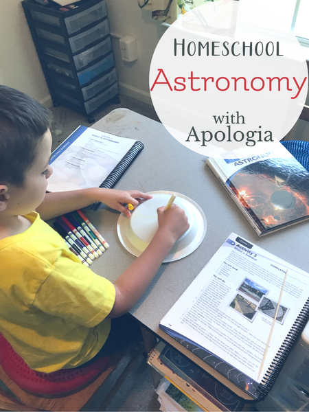 homeschool astronomy for elementary and middle grades