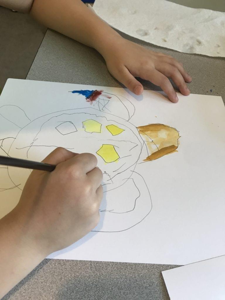 Sparketh online art technique lessons for kids