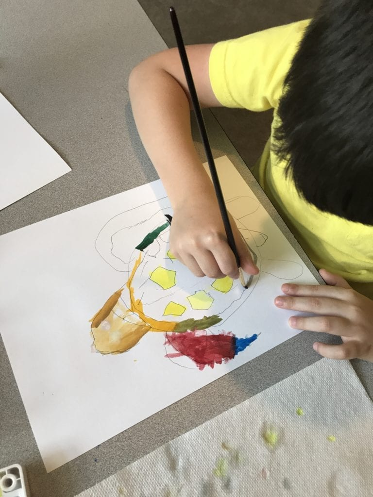 Online homeschool art lessons for kids and teens