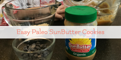 Easy Paleo SunButter Cookies – Cooking with Chef Teddy