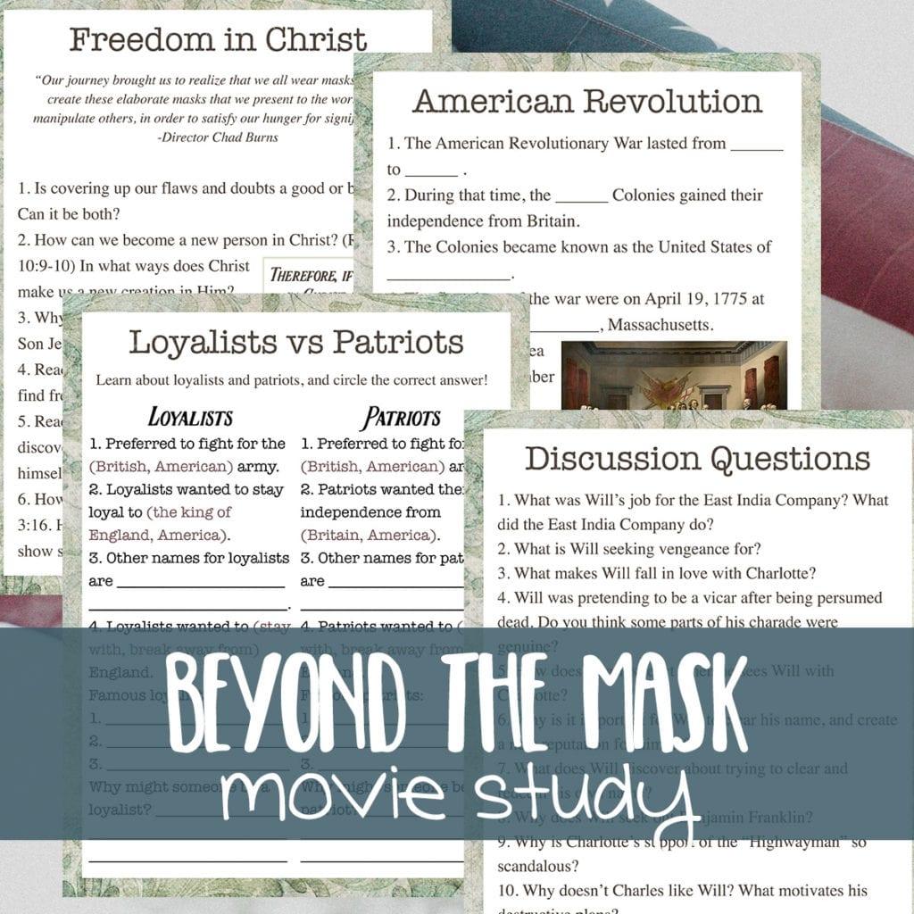 Beyond the Mask movie study