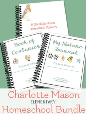 charlotte mason homeschool bundle