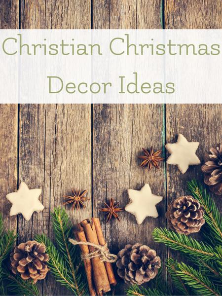 Christian Christmas decor ideas to make your holiday season lovely.