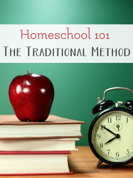 Homeschool and the traditional method