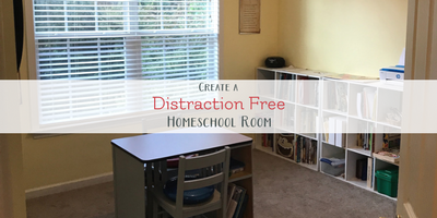 how to create a homeschool room for active learners