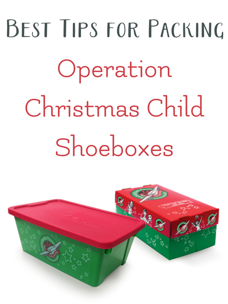 Best tips for packing an Operation Christmas Child Shoebox