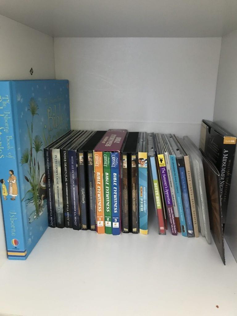 using audiobooks for homeschool dyslexia