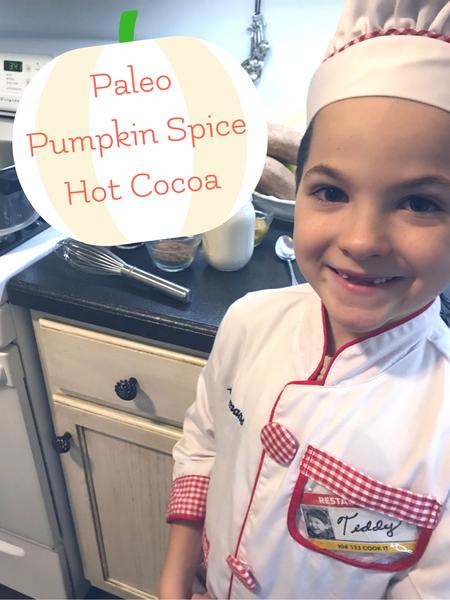Paleo pumpkin spice hot cocoa for a Harry Potter Movie Night