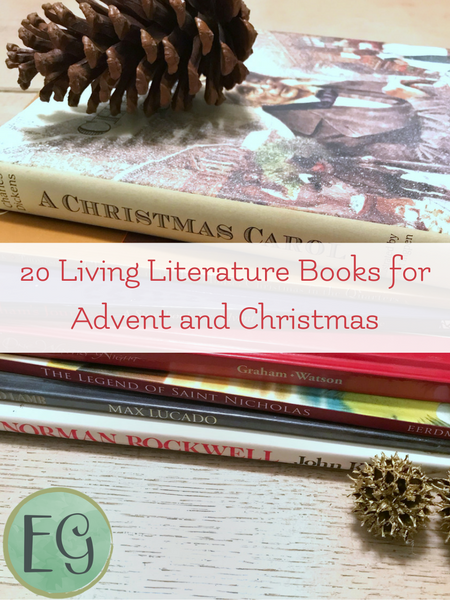 Living books that are perfect for Advent and Christmas.