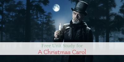 unit study ideas for A Christmas Carol