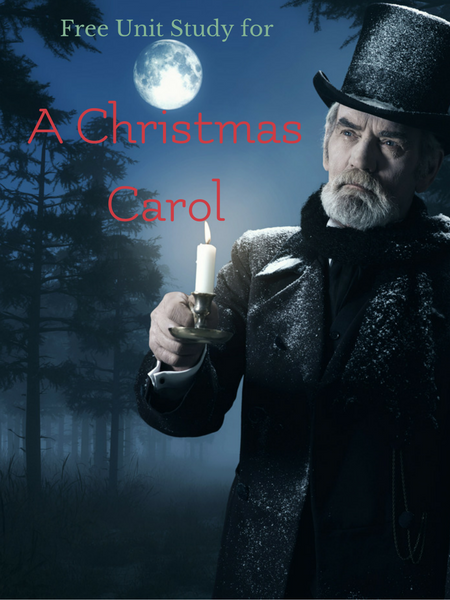 free unit study for A Christmas Carol book