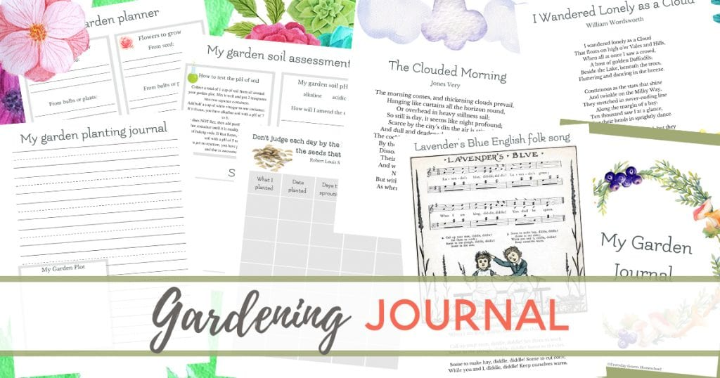 homeschool gardening curriculum