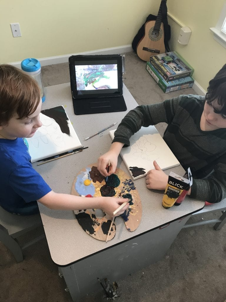 online homeschool art the masterpiece society review