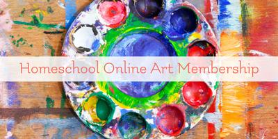 The Best Homeschool Online Art Membership
