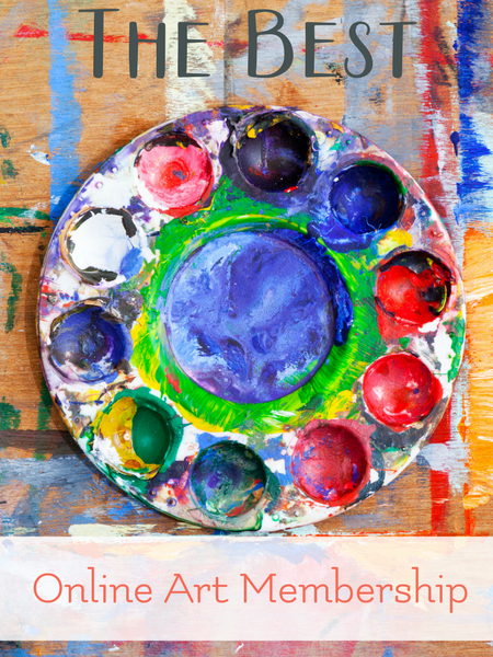The Best online homeschool art membership