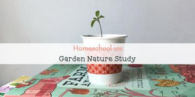 homeschool gardening unit