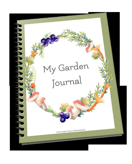 homeschool garden unit curriculum