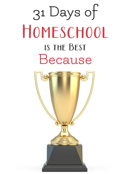 homeschool is the best because