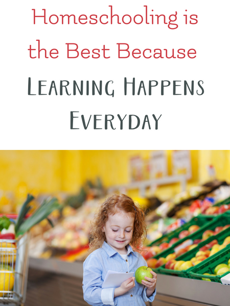 learning happens everyday with homeschooling