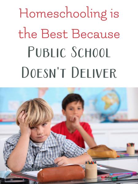 homeschool is best because public school fails children