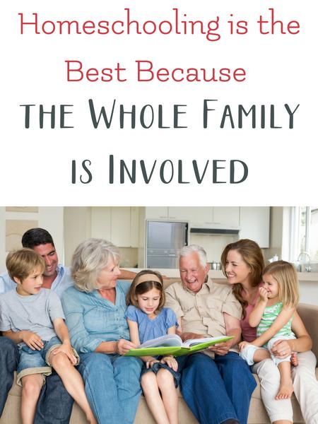 homeschool involves the whole family