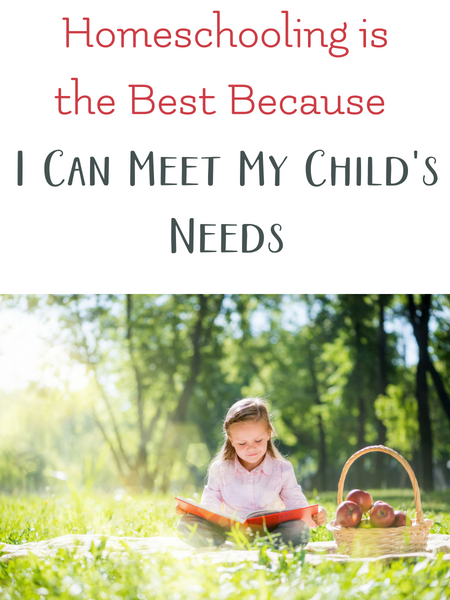 homeschooling is great for children with special needs