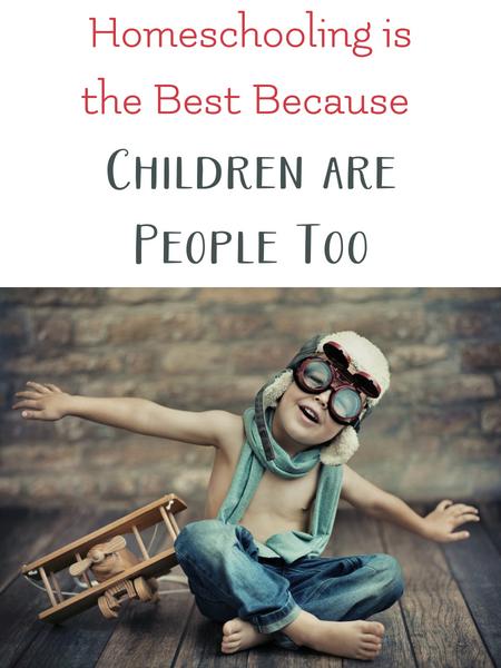 homeschool allows children to be individuals