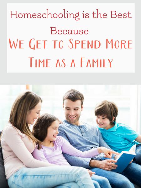 homeschool for more family time